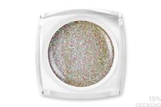 Jolifin LAVENI Farbgel - silver hologram Glitter 5ml