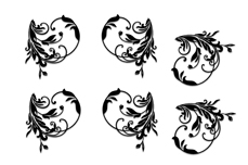 Jolifin Black Elegance Tattoo Nr. 34