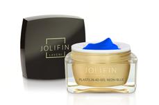 Jolifin LAVENI Plastilin 4D-Gel - neon-blue