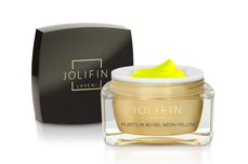 Jolifin LAVENI Plastilin 4D-Gel - neon-yellow