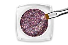 Jolifin LAVENI Farbgel - silver-confetti Glitter 5ml