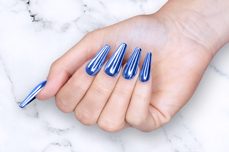 Jolifin Pearl-Chrome Pigment - blue