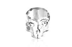 Jolifin Diamond Skull - clear