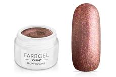 Jolifin Farbgel brown sparkle 5ml