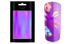 Jolifin LAVENI Aurora Foil Stripes - violet