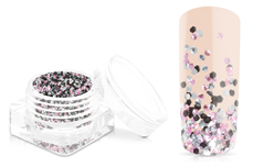 Jolifin Chrome Glitter - rosy elegance