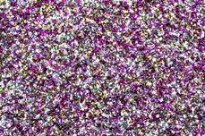 Jolifin Chrome Glitter - pink cosmos