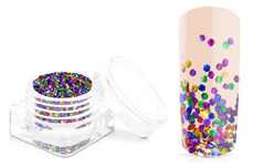 Jolifin Chrome Glitter - confetti party