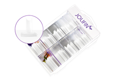 Jolifin 100er Tipbox Pinch natural - clear