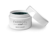 Jolifin Farbgel black galaxy 5ml