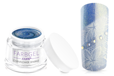 Jolifin Farbgel cornflower sparkle
