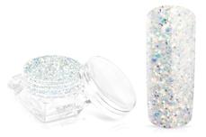 Jolifin Glossy Glitter - white