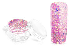 Jolifin Glossy Glitter - candy pink