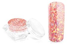 Jolifin Glossy Glitter - coral