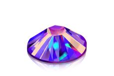 Jolifin Strasssteine 500 Stk - purple irisierend Mix