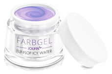 Jolifin Farbgel Flip-Flop icy water 5ml