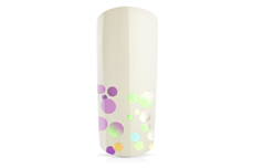 Jolifin Bubble Glitter - clear