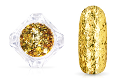 Jolifin LAVENI Mirror-Flakes - gold