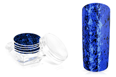 Jolifin LAVENI Mirror-Flakes - blue