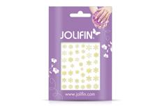 Jolifin Sticker Schneeflocke - gold