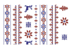 Jolifin XL Tattoo Schneeflocke Nr. 3
