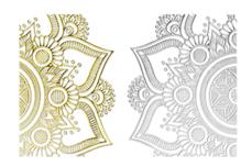 Jolifin LAVENI XL Lace Sticker - Nr. 1