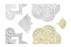 Jolifin LAVENI XL Lace Sticker - Nr. 2