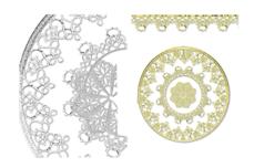 Jolifin LAVENI XL Lace Sticker - Nr. 3