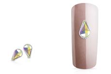 Jolifin LAVENI Strass-Diamond - Long Drop silver