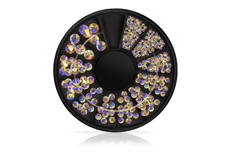 Jolifin LAVENI Strass-Display - purple & gold