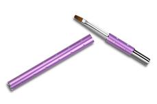 Jolifin Diamond Gel-Pinsel purple Gr. 4