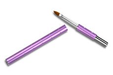 Jolifin Diamond Katzenzungen-Pinsel purple