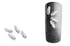 Jolifin Overlay - Feder klein silber
