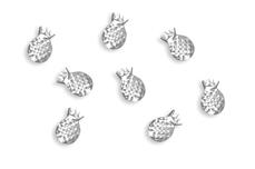 Jolifin Overlay - Ananas klein silber