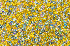 Jolifin LAVENI Hologramm-Pailletten Mix - silver-gold