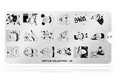 MoYou-London Schablone Festive Collection 07