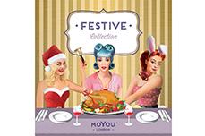 MoYou-London Schablone Festive Collection 46