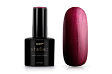 Jolifin LAVENI Shellac - shiny black cherry 12ml
