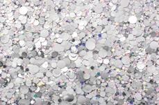Jolifin LAVENI Glossy Mirror Glitter - silver