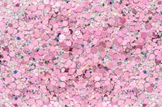 Jolifin LAVENI Glossy Mirror Glitter - rosy