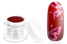 Jolifin Farbgel metallic red 5ml