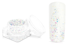 Jolifin Magic Glitter - rainbow white