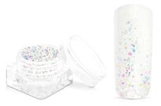 Jolifin Magic Glitter - rainbow white