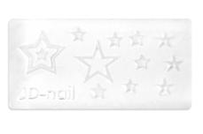 Jolifin 3D-Form - stars