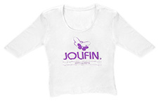 Jolifin Shirt mit 3/4-Arm Gr. M