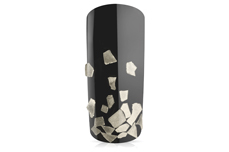 Jolifin Luxury Nailart Splitter - Silber grob