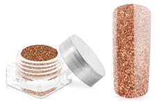 Jolifin Glitterpuder rosy copper