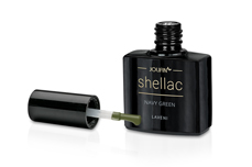 Jolifin LAVENI Shellac - navy green 12ml