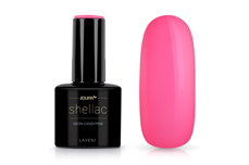 Jolifin LAVENI Shellac - neon-candy pink 12ml