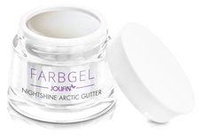 Jolifin Farbgel Nightshine arctic Glitter 5ml